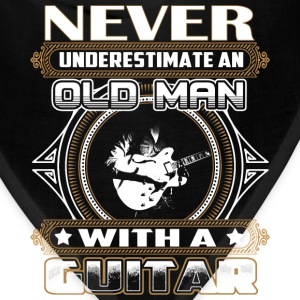 Guitarist - Old man with a guitar awesome - Bandana