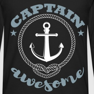 Captain awesome - Men's Premium Long Sleeve T-Shirt