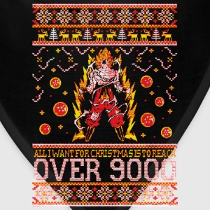All I Want For Christmas Is To Reach Over 9000 - Bandana