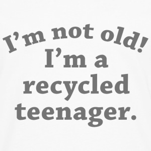 Recycled Teenager - Men's Premium Long Sleeve T-Shirt