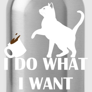 I Do What I Want T-Shirts - Water Bottle