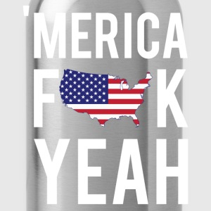 Merica F*ck Yeah T-Shirts - Water Bottle