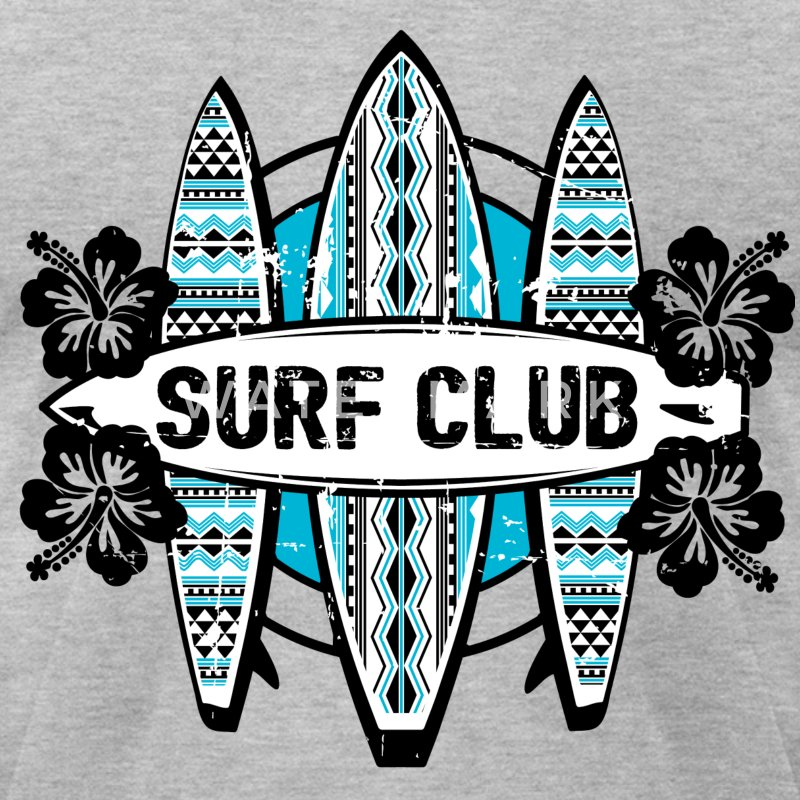 AD Surf Club T-Shirts - Men's T-Shirt by American Apparel