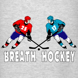 Fighting hockey players Bags & backpacks - Men's T-Shirt