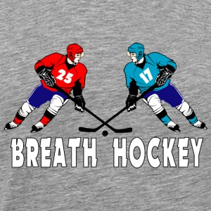 Fighting hockey players Long Sleeve Shirts - Men's Premium T-Shirt