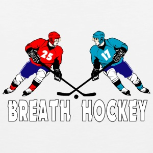 Fighting hockey players T-Shirts - Men's Premium Tank