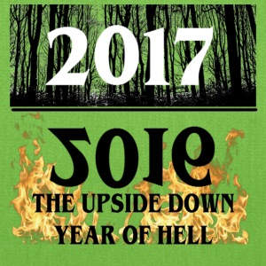 2017- 2016 Upside Down Year Of Hell - Tote Bag