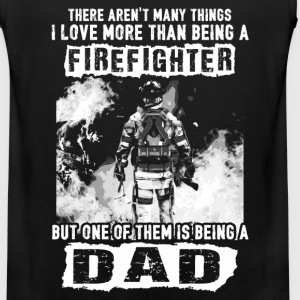 Firefighter - Love being a dad more than fireman - Men's Premium Tank