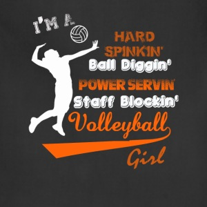 Volleyball - I'm a staff blocking volleyball girl - Adjustable Apron
