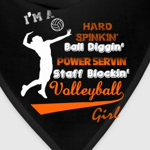 Volleyball - I'm a staff blocking volleyball girl - Bandana