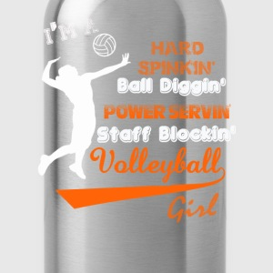 Volleyball - I'm a staff blocking volleyball girl - Water Bottle