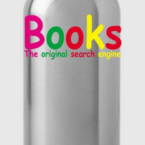 books_the_original_search_engine_ - Water Bottle
