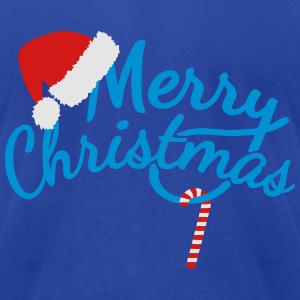 Merry Christmas Polo Shirts - Men's T-Shirt by American Apparel