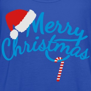 Merry Christmas Polo Shirts - Women's Flowy Tank Top by Bella