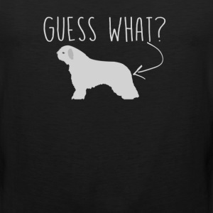 Spanish Water Dog Guess What - Dog Butt T-Shirt - Men's Premium Tank