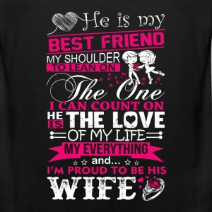 Husband - My husband is my best friend - Men's Premium Tank