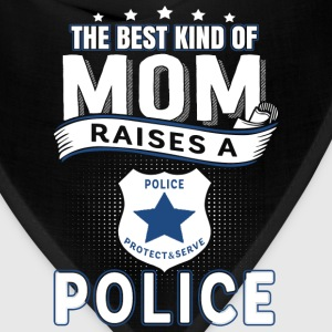 Police mom - The best ind of mom raises a police - Bandana