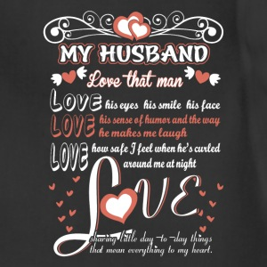 Husband - Love the way he makes me laugh - Adjustable Apron