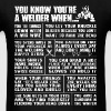 Welder - You tie things down with a mig wire - Men's T-Shirt