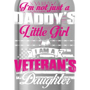 Veteran's daughter - Not just Daddy's little girl - Water Bottle