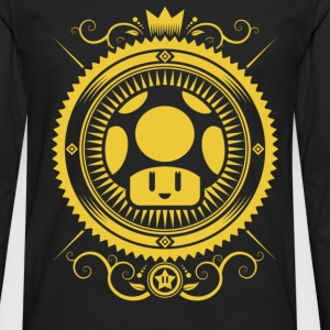 Mushroom symbolism - Circle T-shirt - Men's Premium Long Sleeve T-Shirt