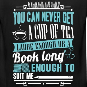 Reading - A book long enough to suit me - Men's Premium Tank