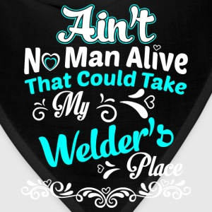 Welder - Ain't no man alive that could take place - Bandana