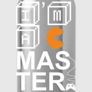 T-shirt for Gamer - I am a master - Water Bottle