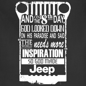 Jeep - The world needs more inspiration - Adjustable Apron
