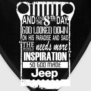 Jeep - The world needs more inspiration - Bandana