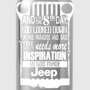 Jeep - The world needs more inspiration - Water Bottle