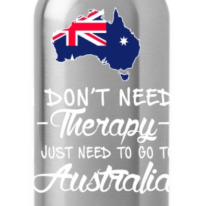 Need to go to Australia - I don't need therapy - Water Bottle