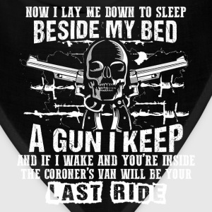 Gun owner - I lay down to sleep beside my bed - Bandana