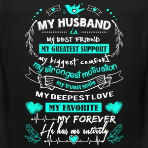 Husband - My forever. He has me entirely - Men's Premium Tank