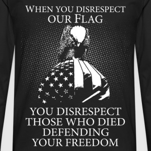 Military - Those who died defending your freedom - Men's Premium Long Sleeve T-Shirt