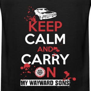 My Wayward sons - Keep calm and carry on - Men's Premium Tank