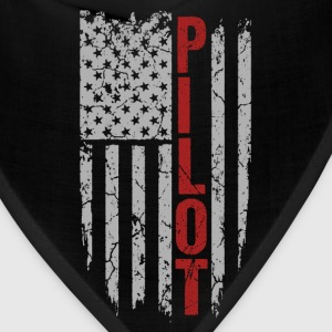 Pilot - United States of American flag - Bandana