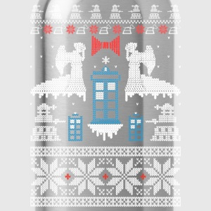 Ugly Christmas sweater for game lover - Water Bottle