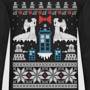 Ugly Christmas sweater for game lover - Men's Premium Long Sleeve T-Shirt