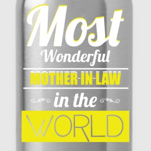 Most wonderful mother-in-law in the world!  - Water Bottle