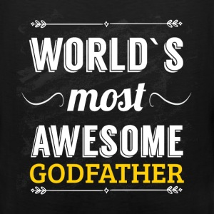 World's most awesome godfather - Men's Premium Tank