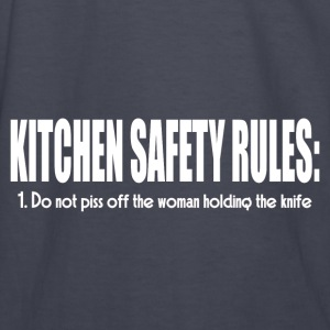 KITCHEN SAFETY RULES Hoodies - Kids' Long Sleeve T-Shirt