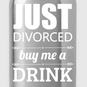Just divorced buy me a drink - Water Bottle