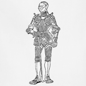 suit of armor front - Adjustable Apron