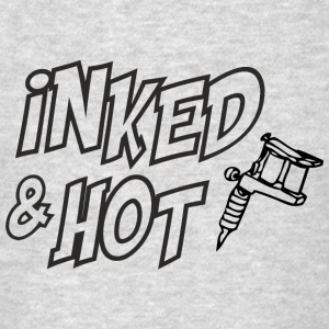 Inked and hot Long Sleeve Shirts - Men's T-Shirt