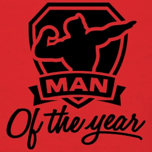 Man of the year 1 clr Bags & backpacks - Men's T-Shirt