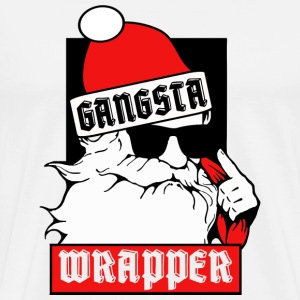 Gangsta Wrapper Hoodies - Men's Premium T-Shirt