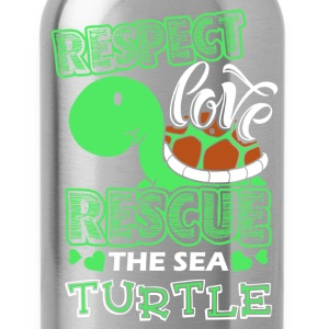 Sea Turtle Shirt - Water Bottle