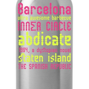 Barcelona ultra awesome barbecue - Water Bottle