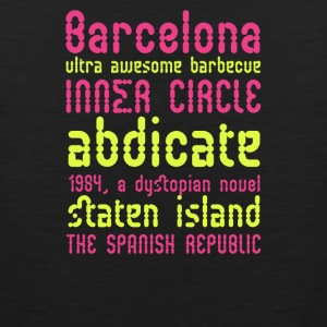 Barcelona ultra awesome barbecue - Men's Premium Tank